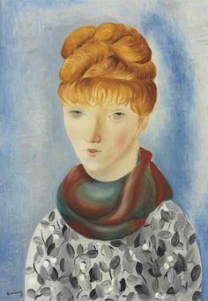 Moise Kisling (1891-1953)  Portrait