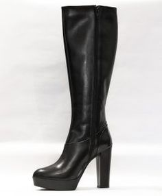 cizme-negre-06-2 Fall Shoes, Heeled Boots, Fall Winter, Heels, Collection, Women, Fashion, High Heel Boots, Heel