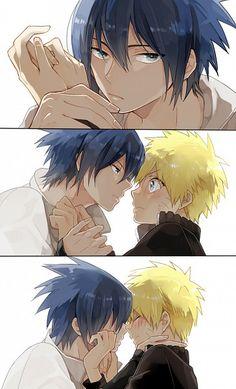 Tags: Fanart, NARUTO, Uzumaki Naruto, Uchiha Sasuke/sasunaru ~ ohhh, so naruto is the UKE. hehehehehehe