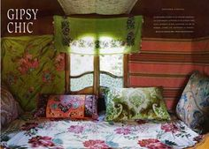 camper with a gypsy design | ... live in a chic and colorful gypsy trailer? well now you can find out