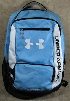 Under Armour Hustle Backpack Carolina Blue One Size