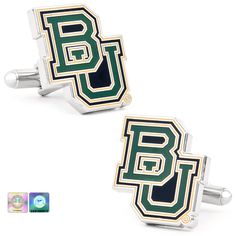 #Baylor Bears Cufflinks