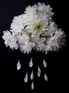 Raining flowers 1 posters & prints by Milla Ek - Printler.com
