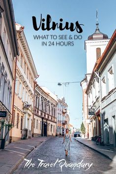 If you're visiting the Baltics, we highly recommend a stop by Vilnius in Lithuania. This beautiful capital will delight you with its colourful streets, many museums and delicious potato dumplings!