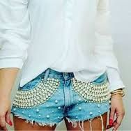 Clothes Diy Jeans Shoes 67 New Ideas Cool Outfits, Summer Outfits, Barbie Mode, Embellished Jeans, Shoes With Jeans, Diy Clothing, Refashion, Denim Fashion, Distressed Denim