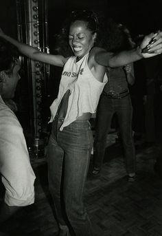 Diana Ross en Studio 54