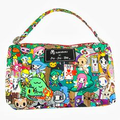 Tokidoki Ju-Ju-Be 'Be Quick' Wristlet Pouch available at Jujube Be Quick, Jujube Bags, Cute Purses, Purses And Handbags, Pouch, Shoulder Bag, Tote Bag, Collection, Kawaii
