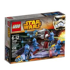 Amazon.com: LEGO Star Wars Senate Commando Troopers: Toys & Games