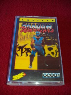 AMSTRAD CPC 464 JUEGO cassette shadow warriors | eBay
