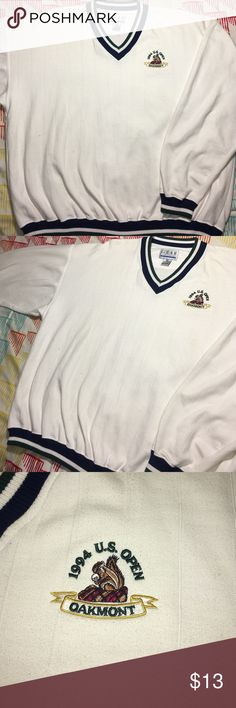 Vintage 1994 US Open Golf Sweatshirt Size XXL- Year 1994 Oakmont Gear Shirts Sweatshirts & Hoodies