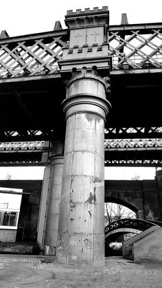 Underneath Deansgate-Castlefield, Manchester