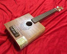 Kamaka Style Cigar Box Ukulele | Circuits and Strings