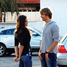 this is too cute to handle. <3 #ncisla #densi #deeks