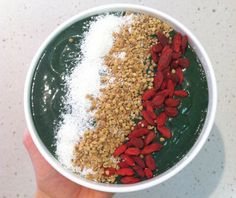 <p>A green smoothie so good and so big, you have to eat it with a spoon out of a bowl (or slurp up the goodness!)</p>