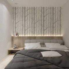 Фотография: Спальня в стиле Современный, Квартира, Студия, Проект недели, Санкт-Петербург, до 40 метров, Анна Швец – фото на InMyRoom.ru