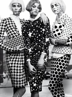 Antonella, Elyse & Veranika photographed by Gregory Harris for V72 Preview.