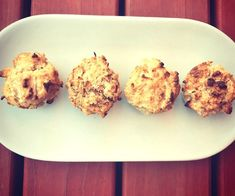 Spiced Apple Coconut Mini Muffins 75 Calories Each Healthy Mummy Recipes, Healthy Sweets, Apple Recipes, Healthy Baking, Wine Recipes, Baking Recipes, Sweet Recipes, Healthy Snacks, Weekly Recipes