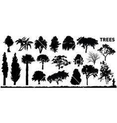 Tree vector on VectorStock&reg