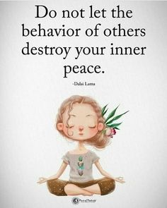 Do not let the behavior of other destroy your inner peace. 31 positive affirmations to create more success Do not let the behavior of other destroy your inner peace. 31 positive affirmations to create more success Work Motivational Quotes, Quotes Positive, Great Quotes, Quotes Inspirational, Negative People Quotes, Uplifting Quotes, Weird People Quotes, Funny Quotes For Work, Quotes About School