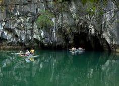 Río Subterráneo de Puerto Princesa (Filipinas)