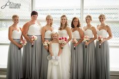 BRIDESMAID TRENDS Two tone Bridesmaid Dresses | SouthBound Bride