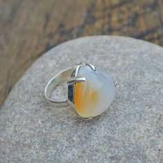 Hey, I found this really awesome Etsy listing at https://www.etsy.com/listing/398857767/natural-honey-agate-ring-agate-gemstone