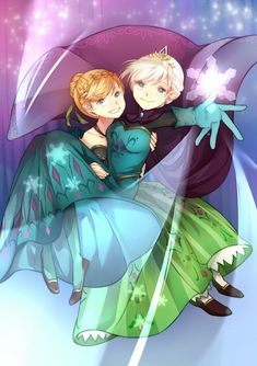 Elsa and Anna: Sisterhood is the strongest magic