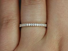 14kt Rose Gold Matching Band to Mikena Halfway by RosadosBox