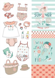 Baby Swimwear, Baby Swimsuit, Nausicaa, Baby Posters, Inspiration For Kids, Kids Prints, Baby Shirts, Baby Wearing, Kids Wear