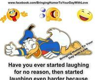 laughing for no reason