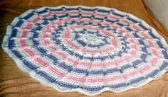 round jacobs ladder blanket