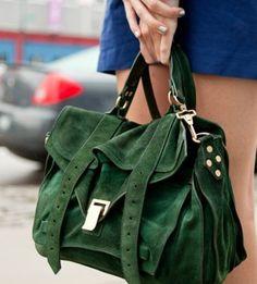 Color Crush Hunter Green Fashion Handbags Bags Purses And