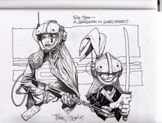 Usagi Yojimbo by Travis Charest