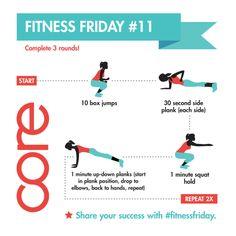 Fitness Friday # 11 http://www.tina4mynt.jeunesseglobal.com/