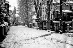 The Pantiles in January Black White Photos, Black And White, Tunbridge Wells, Old Photos, Nostalgia, England, London, 1960s, January
