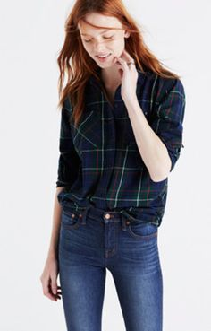 Flannel Ex-Boyfriend Shirt in Ontario Plaid