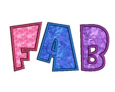 Fab Applique Alphabet Machine Embroidery by FancyFontsEmbroidery, $20.00