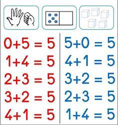 Preschool Music, Math Numbers, Early Education, Primary School, Grade 1, Kindergarten, Maths, Math Equations, Kids