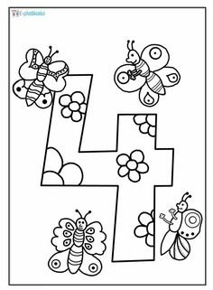 Sports Activities For Kids, Math For Kids, Toddler Activities, Number Art, Kids Math Worksheets, Simple Math, Math Classroom, Animal Drawings, Letters