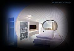 Sci-Fi Hotel® Suite Concept