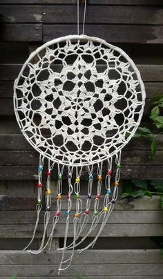 Lindevrouwsweb Crochet Tablecloth, Crochet Doilies, Love Crochet, Diy Crochet, Crochet Mandela, Dream Catcher Wedding, Sun Catchers, Christmas Craft Show, Crochet Dreamcatcher