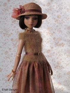 OOAK outfit for ELLOWYNE WILDE #2, by *evati* via eBay, SOLD 11/24/14   $62.99