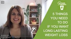 When most people start a new healthy eating plan and weight loss plan, there's something very important they forget to do right away.   Watch this video to find out what makes all the difference to their long term success on that plan…  Join the Clean Green VIP list and get an almost half price discount when we launch:  http://www.greenthickies.com/coaching