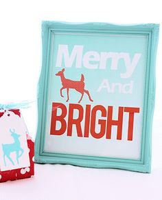 Free Christmas Home Printables