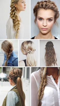 Embrace your inner Katness Everdeen with these fun braid ideas!!!