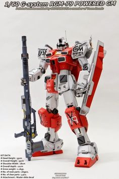 Painted Build: G-System 1/60 RGM-79C Powered GM