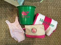 Adorable baby gift from Monograms off Madison.