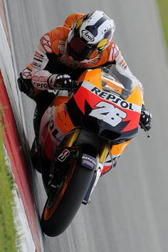 Dani Pedrosa - will next year be his year. Or will Lorenzo, Marquez or Rossi spoil it again. #MotoGP #Race