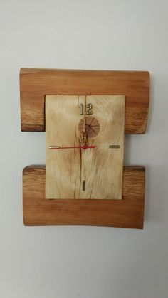 Clock, Wall, Projects, Home Decor, Watch, Log Projects, Blue Prints, Decoration Home, Room Decor