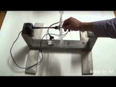 How to make a mini hydroelectric power generator - YouTube